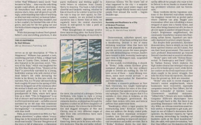 Broke Reviewed in Sunday New York Times print edition