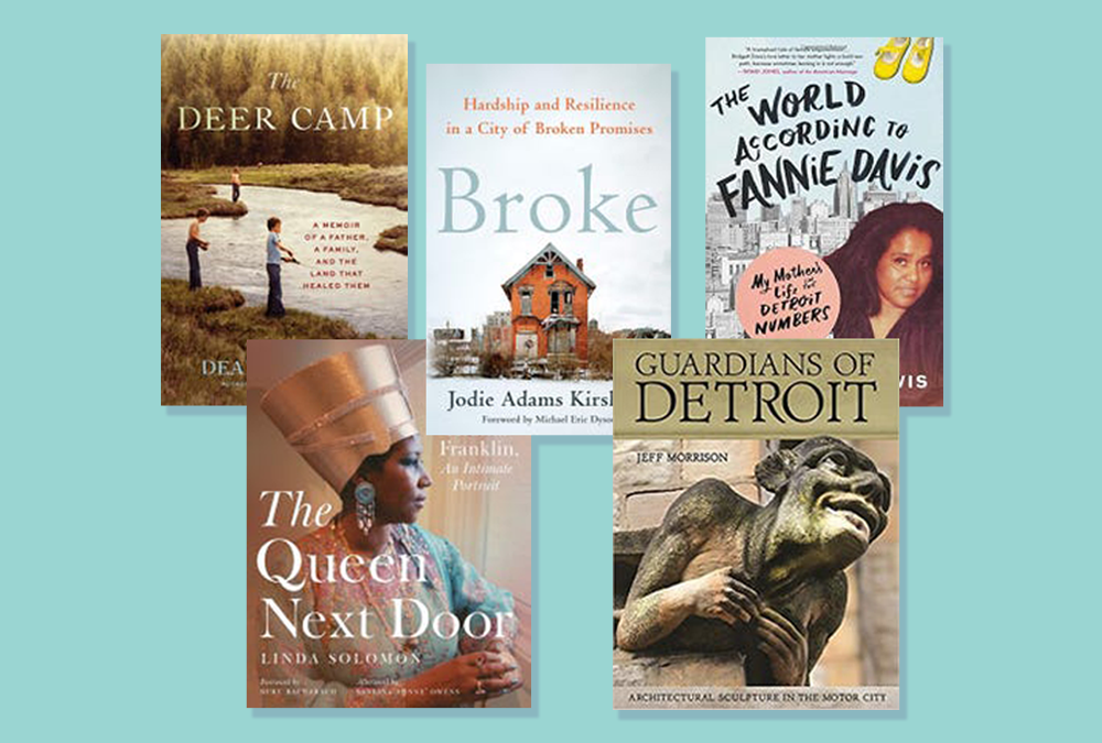 "Broke wins ""Michigan Notable Book"" Award"