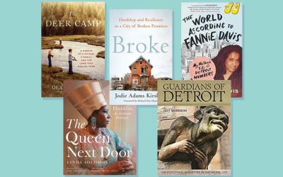 "Broke wins ""Michigan Notable Book"" Award"