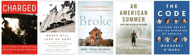Broke Shortlisted for J Anthony Lukas Book Prize (with Alex Kotlowitz, Emily Bazelon, Margaret O'Mara)