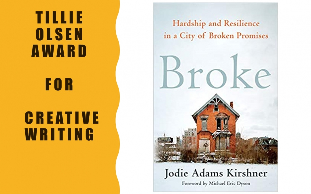 Broke Wins Tillie Olsen Award for Creative Writing