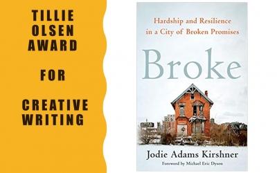 Broke Wins Tillie Olsen Award for Creative Writing